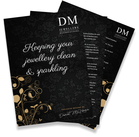 DM Jewellers Maroochydore - caring for your jewellery graphic-LARGE