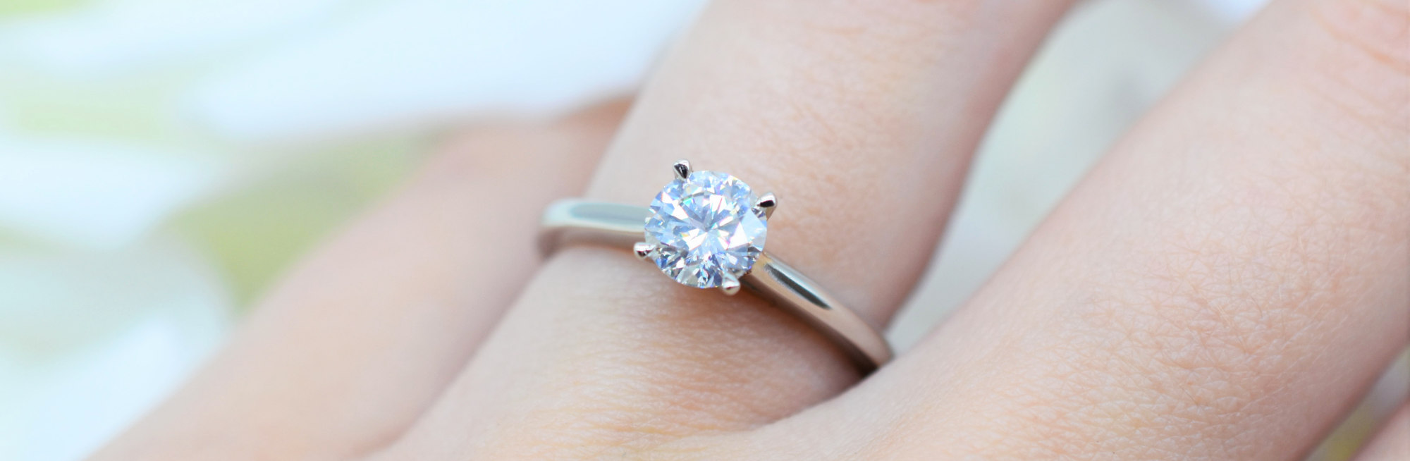 DM Jewellers will you marry me competition prize ring on finger
